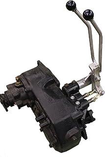 JB Custom Fabrication D20JJS Stainless Steel Twin-Stick Shifter for Jeep Commando/Jeepster W/ 3-Speed