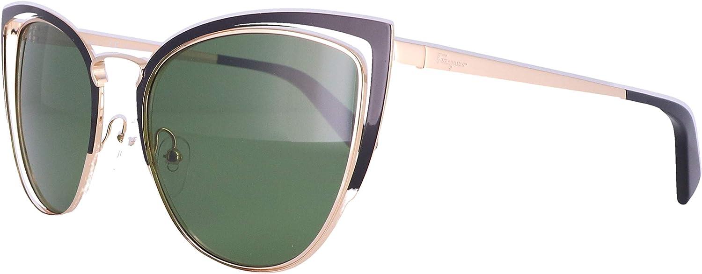 Sunglasses FERRAGAMO Max 90% OFF SF Max 54% OFF 183 S Black 001