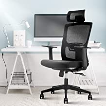 Ergonomic Office Chair,Home Comfort Chairs,High Back Adjustable Home Desk Chair with Lumbar Support,High Back with Breatha...
