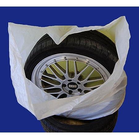 Sw Trade Germany Reifentaschen Set 4 Teilig Passend Für Alle Reifentypen Bis 22 Zoll Reifentüten Reifensäcke Reifen Schutz Reifensack Reifenschutzhülle Biologisch Abbaubar Auto