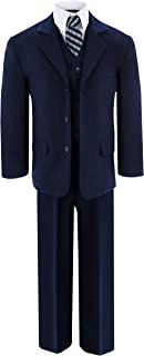 Gino Giovanni Navy Blue Formal Suit Set from Baby to Teens