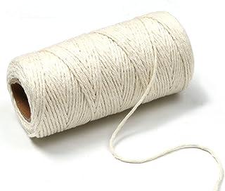 PENTA ANGEL 100 Yards DIY Craft, Natural Cotton, Tying Poultry Meat Making Sausage (White)