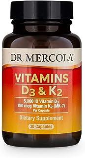 Dr. Mercola - Vitamins D3 And K2 30 Capsules 154858