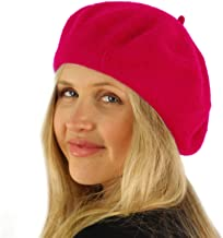 SK Hat shop Classic Winter 100% Wool Warm French Art Basque Beret Tam Beanie Hat Cap