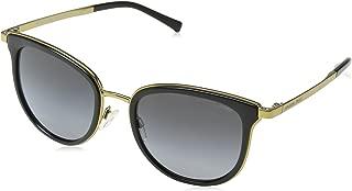 Michael Kors Men,Women MK1010 54 ADRIANNA I Black/Grey Sunglasses 54mm