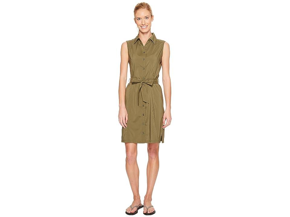 Jack Wolfskin Sonora Dress (Burnt Olive) Women