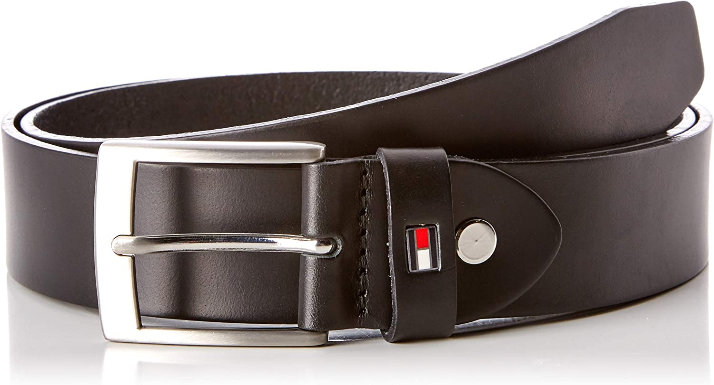 Tommy Hilfiger Herren NEW DENTON BELT 4.0 G/ürtel Schwarz Black 090 90 cm