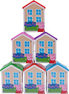 Peppa Pig Blind House Assortment Polybag of 6, Series 1