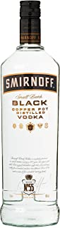 Smirnoff Black No. 55 Small Batch Premium Vodka 1 x 1 l