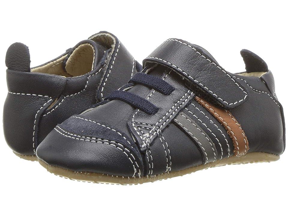 Old Soles Urban Edge (Infant/Toddler) (Navy/Grey/Tan) Boys Shoes