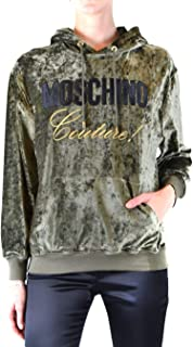 Luxury Fashion | Moschino Womens A171055293439 Green Sweatshirt | Autumn-Winter 19