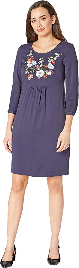 Alison - Long Sleeve Woven Dress