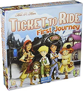Fantasy Flight Games DO7227 Ticket to Ride: Europe - First Journey,White