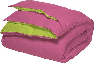 Sleepyhead Reversible Microfiber Comforter, Chrome Yellow & Ash Grey -  Double Size, 220 GSM : Amazon.in: Home & Kitchen