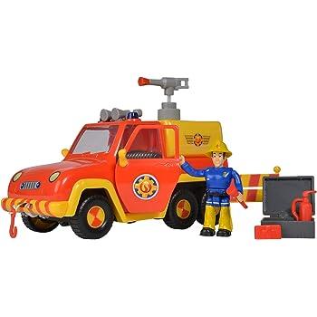 Pompier Sam TOM/'S 4x4 Véhicule Tout-terrain de Simba Dickie