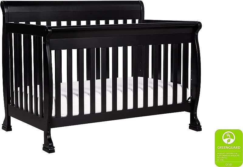 DaVinci Kalani 4 In 1 Convertible Crib Ebony