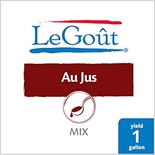 LeGout Au Jus Gravy Mix Cooks in Two Minutes, 0g Trans Fat, 3.3 oz, Pack of 16