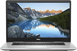 Dell Inspiron 15 7570-7224SLV Laptop 15.6 Inches LCD/LED Laptop - Intel i7-8550U 1.8 GHz, 8 GB RAM, 1000 GB HDD, NVIDIA GeForce MX130, Windows 10, Silver