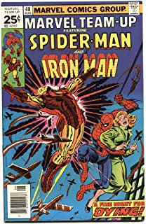 Marvel Team-up #48 1976 Spider-Man - IRON MAN VF/NM