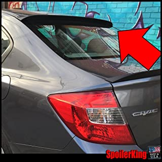 Spoiler King Roof Spoiler XL (380R) Compatible with Honda Civic 4dr 2012-2015