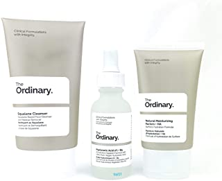 The Ordinary The Daily Set (3 Pcs: The Ordinary Squalane Cleanser - The Ordinary Hyaluronic Acid 2% + B5 - The Ordinary Na...