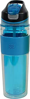 Cool Gear Arise Double Wall Bottle, 19.5 oz, Blue