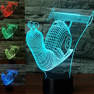 snail light night lamp
