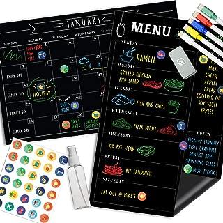 Best dry erase chalkboard calendar Reviews