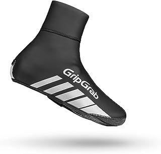RaceThermo - Cubrezapatillas para Ciclismo (Negro, Gris, Monótono