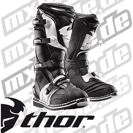 Thor Mx Cuadrante 2 Hombre Off Road Motocicleta Botas Negro Tamaño 7 Automotive