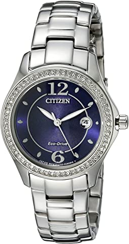 Citizen Watches FE1140-86L Eco-Drive Silhouette Crystal