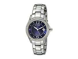 FE1140-86L Eco-Drive Silhouette Crystal