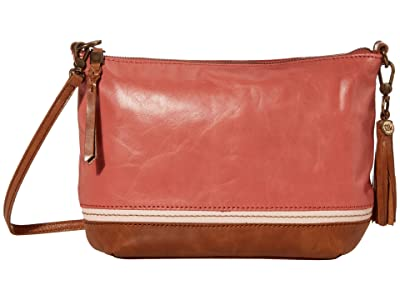The Sak Sequoia 3-in-1 Crossbody (Dusty Coral Block) Handbags