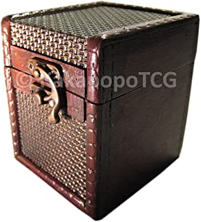 S01-CM Wood Single Deck Box Case for Deck Protector Storage Trading Cards TCG Ultra Pro Sleeve MTG Magic the Gathering Pokemon YGO Yugioh Wow Vanguard Ultra Pro Lord of the Rings EDH Commander