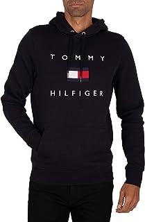 Tommy Hilfiger Felpa con cappuccio da uomo Tommy Flag Hilfiger Hoody