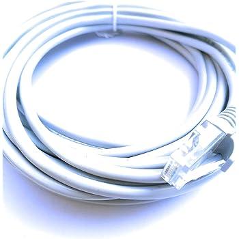 Cat5e Rj45 Ethernet Lan Network Cable Utp Lead 10m Amazon Co Uk Computers Accessories