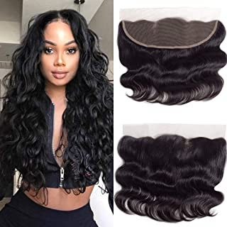Best brazilian lace frontal closure with baby hair Reviews