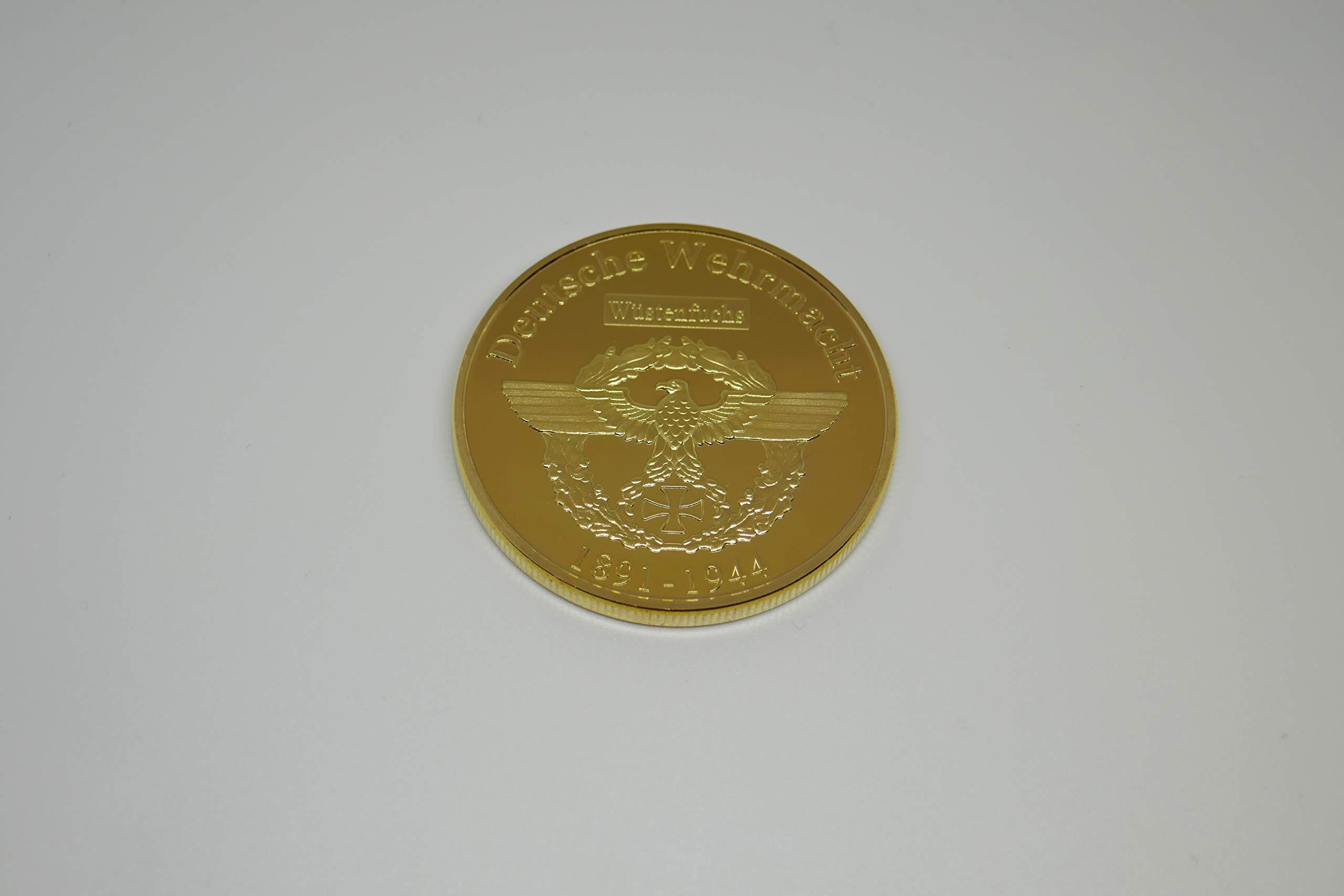 Donatio Commander Erwin Rommel Afrika Korps - Moneda Conmemorativa ...