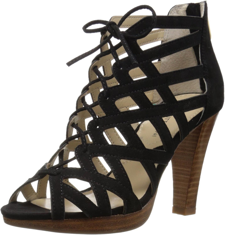 Adrienne Vittadini Womens Anjolie-1 Platform Dress Sandal