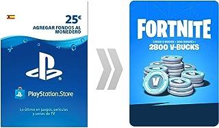 PSN Credito para Fortnite  2800 V-Bucks   Código de