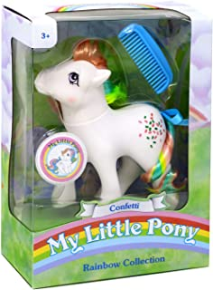 My Little Pony 35277 My Classic Rainbow Ponies-Confetti Collectible, Multicolour