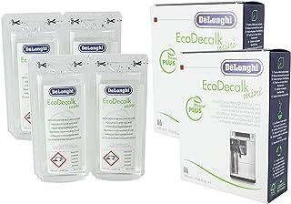 DeLonghi EcoDecalk Mini Lot de 2pièces de détartrant pour machine à café (total de 4sachets de 100ml)