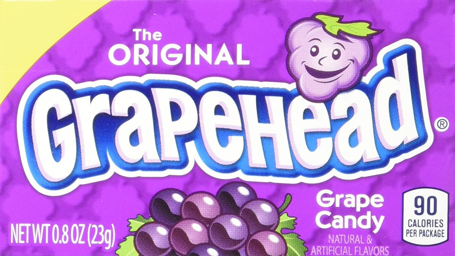 Grapehead Candy 0.8 Mail order Ounce 24 Max 88% OFF Pack of Box