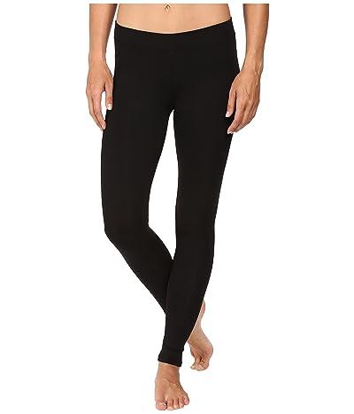PACT Organic Cotton Long Leggings (Black) Women