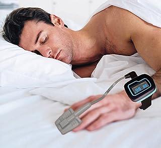 ChoiceMed Monitor de sueño/muñeca oxímetro de pulso para toda la noche vigilancia (modelo MD300W512 aprobado por la FDA y CE marcado) por Home Care Wholesale