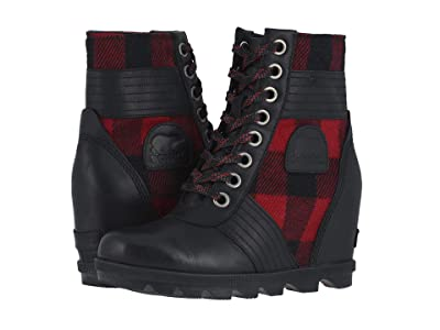 SOREL Lexietm Wedge (Tartan, Black) Women