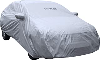 Amazon Brand - Solimo Maruti Ciaz Water Resistant Car Cover (Silver)