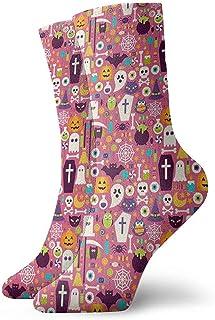 Dydan Tne, Niños Niñas Locos Divertidos Patrones de Fiesta de Feliz Halloween Calcetines Lindos del Vestido de la Novedad