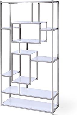 Steve Silver Company Alize Bookcase, White