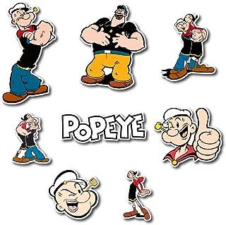 OLIVE OYL Popeye Vinyl Decal Sticker for Car Truck Window water bottle phone
